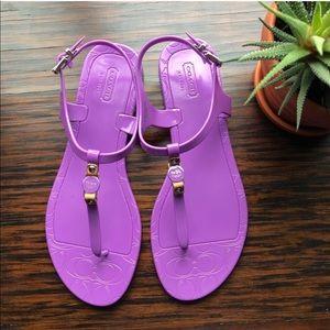 Coach Shoes Sandals Size 7 Poshmark